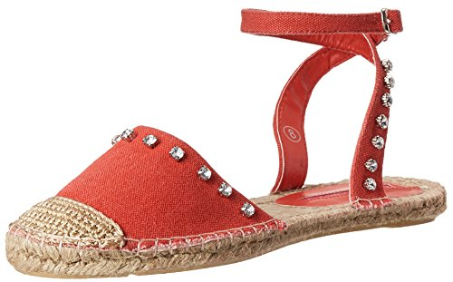 C Label Mujeres Adler-6 Flat Red