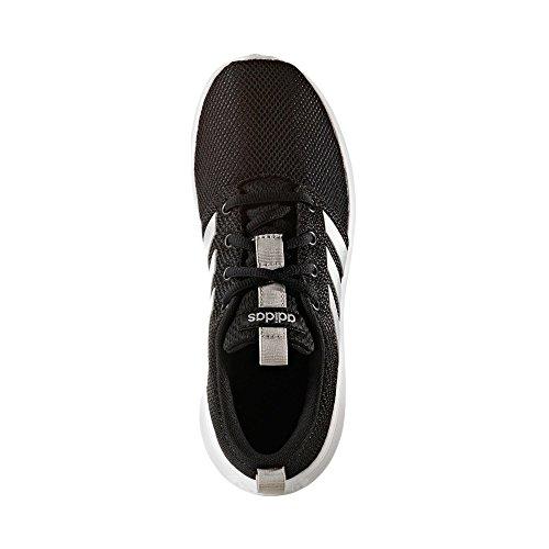adidas Unisex-Kinder Swifty K Turnschuhe, Schwarz (Negbas/Plamat/Ftwbla), 36 EU