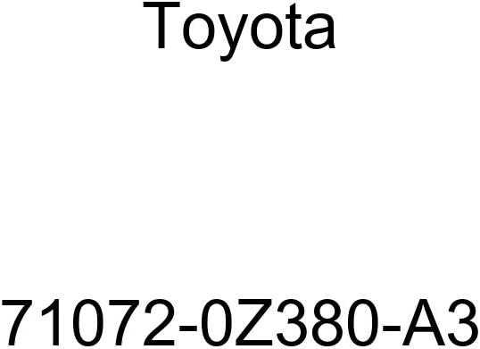 TOYOTA Genuine 71072-0Z380-A3 Seat Cushion Cover