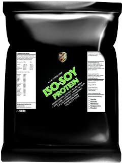 TLN Iso-Soy Protein Powder 2500 g (2,5 kg) Chocolate flavoured, soya proteinas polvo, soja milkshake, aminoácidos, aspartame free