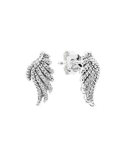 pandora feather earrings uk