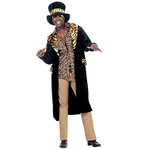 Big Daddy Costumes Velvet (Mens Big Daddy Velvet Costume Small Uk 38/40