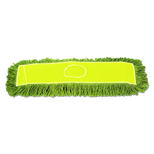 Boardwalk ECHO365LGSP Echo Dustmop, Synthetic/Cotton, 36'' x 5'', Green (Case of 12) by Unisan