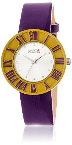 crayo-womens-prestige-quartz-metal-and-polyurethane-watch-colorpurple-model-cracr3101