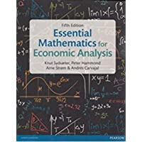 Essential Mathematics for Economic Analysis, 5e