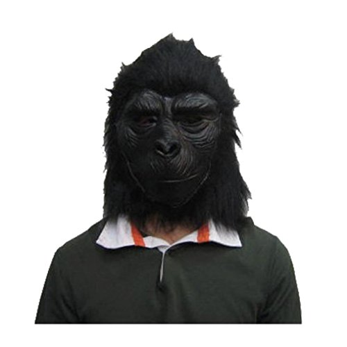 Coerni Premium Halloween Costume Simulated Gorilla Latex Mask for -