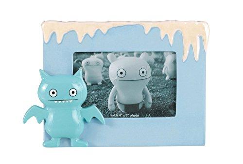 Uglydoll 4-Inch by 6-Inch Ice-Bat Snowcap Ceramic Frame, Light (Ugli Doll)