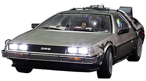 Back To The Future Hot Toys 1:6th Scale DeLorean Collectible Vehicle (Delorean Vehicle)