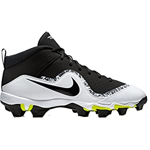 NIKE Men's Force Trout 4 Keystone Baseball Cleats (8, Black)