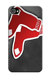 Boston Red Sox MLB Team Logo Case Cover for Iphone 4/4s