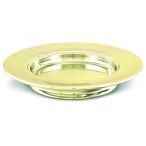 Communion- Solid Brass -Communion Bread Plate-Stacking-10 by Artistic Manufacturing
