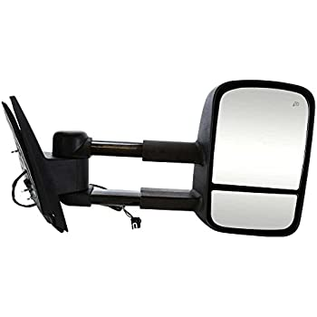 Prime Choice Auto Parts KAPFO1321369 Right RH Extendable Power Heated Signal Towing Side Mirror