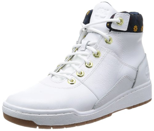Timberland EK Bridgton Zip Mid Mens Leather Desert Boots White