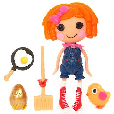 Lalaloopsy 3 Inch Mini Figure with Accessories Sunny Side Up (Lalaloopsy Sunny Side Up compare prices)