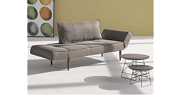 Innovation - Zeal sofá Cama Gris con prensatelas Madera ...