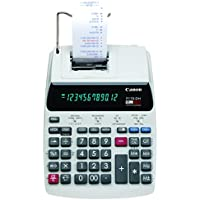 Canon P170-DH-3 Desktop Printing Calculator with Currency Conversion, Clock & Calendar, and Time Calculation