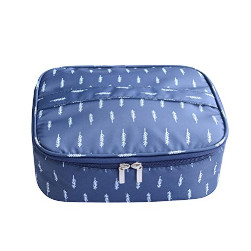 Travel Multifunction Yuan Waterproof Colors Cosmetic Makeup solid Bag Bag Compartment Wash Toiletry B YWOWTn8x