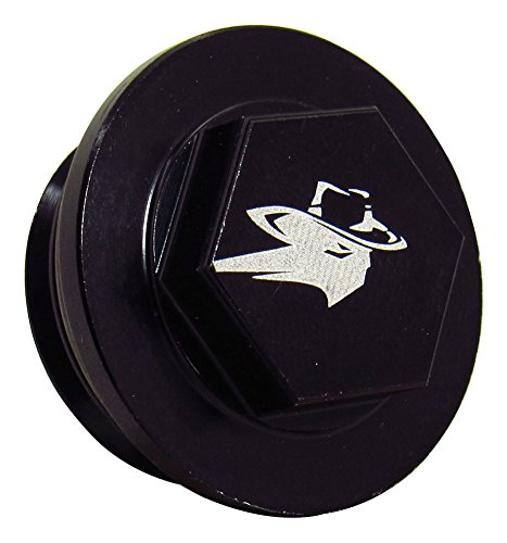 Outlaw Racing PP1100KTBK Oil Fill Cap Black KTM 380EXC/MXC/SX 1998 (Oil Filler Cap Wrench)