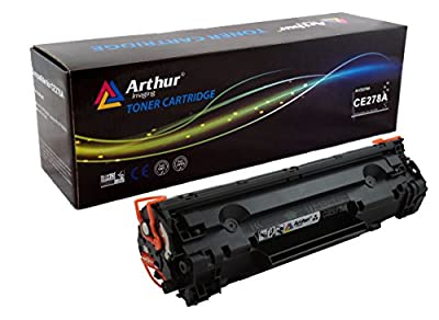 Arthur Imaging Compatible Toner Cartridge Replacement for Hewlett Packard CE278A (HP 78A) (Black, 1-Pack)