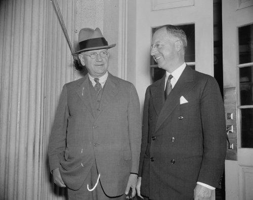 1937 Photo New U S  Housing Chief  Washington  D C   Oct  20  Nathan Straus  F7
