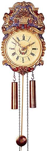 Alemán Réplica de reloj antigua 8 días de movimiento de 35 30 cm - Auténtico reloj