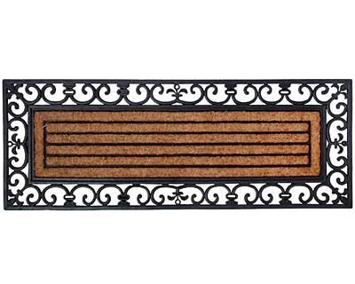 Esschert Design Rubber and Coir Doormat, X-Large (Doormats Long)