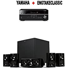Yamaha RX-V685BL 7.2-Channel 4K Ultra HD AV Receiver + Klipsch HDT-600 Home Theater System Bundle