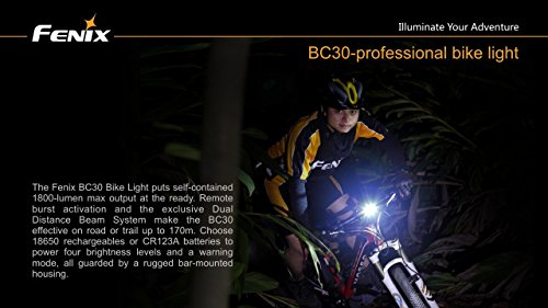 Where Can You buy Bundle: Fenix BC30 1800 Lumen LED Bike Light, Dual Distance Beam Bicycle Flashlight with two LegionArms 18650 Rechargeable Batteries and Charger