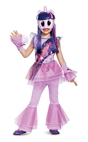 Twilight Sparkle Movie Deluxe Costume, Purple, X-Small (3T-4T)