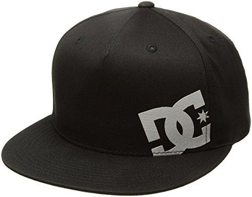 DC Men's Heard Ya 2 Hat, Black, One Size - Skate Cap Hat