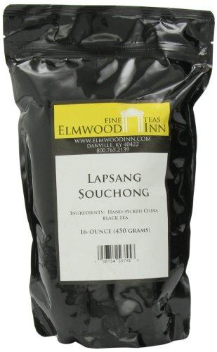 Elmwood Inn Fine Teas, Lapsang Souchong Smokey Black Tea, 16-Ounce Pouch