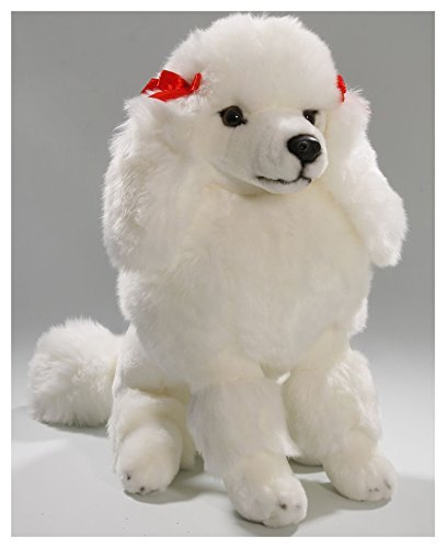 (Carl Dick Poodle White, 12 inches, 30cm, Plush Toy, Soft Toy, Stuffed Animal 2968)