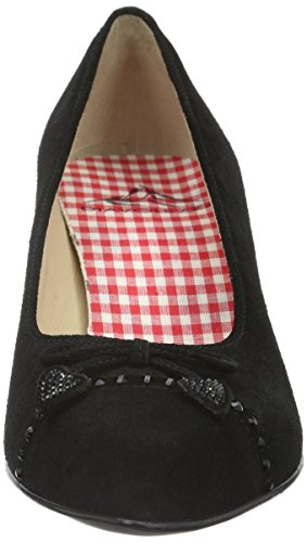 Diavolezza Women's Perla Closed Toe Heels Black (Black) Y0Xir1