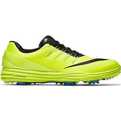 2016 Nike LUNAR CONTROL 4 Golf Shoes Medium -New- Grey/Black/Blue/White Volt/Photo Blue/Black