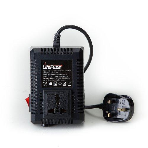 LiteFuze LC-300UK 300Watt Step Up/Down Travel Voltage Conver