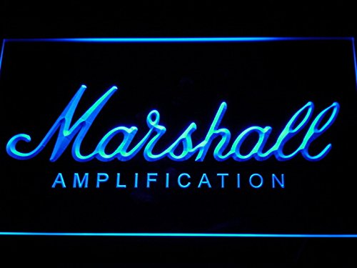 Marshall Led Sign - Marshall Guitars Bass Amplifier LED Neon Light Sign Man Cave K168-B