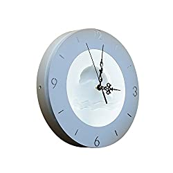 Indoor and outdoor wall lamp simple modern creative wall clock Nordic living room bedroom study LED clock light can be decorated can be illuminated (Design : 9)