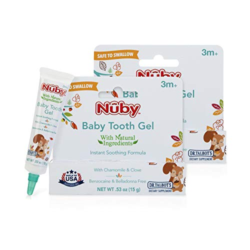 Nuby Natural Baby Tooth Gel for Sore Gums