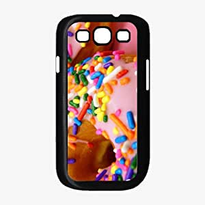 Yummy Pink Frosted Donuts - Phone Case Back Cover (Galaxy S3 - TPU Rubber Silicone)
