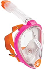 From our leading technology in full face integrated diving masks, we bring you the Ocean Reef Aria Full Face Snorkelling Mask. Comes in different sizes that allows comfortable fit on everybody's face. Breathe comfortably and naturally through...
