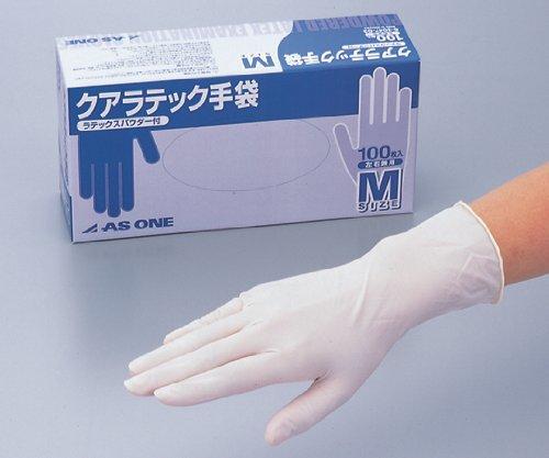 アズワン6-3047-12クアラテック手袋(DXパウダー付き)M1000枚入 B07BD3P7W3