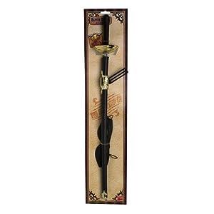 Smiffys - Stoßdegen und Augenmaske Degen 65 cm Kostüm Waffen