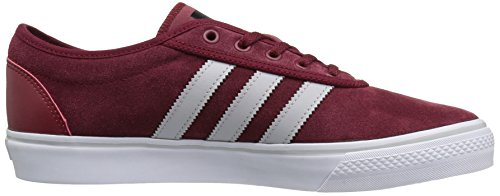 Adidas Originals Adi-agio Sneaker Collegiale Moda Bordeaux / Grigio Chiaro Melange Solido Grigio / Bianco