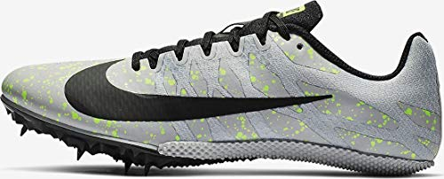 Nike Zoom Rival S 9 Track Spike Pure Platinum/Black/Volt Glow Size 7.5 M US (Best Long Jump Spikes 2019)