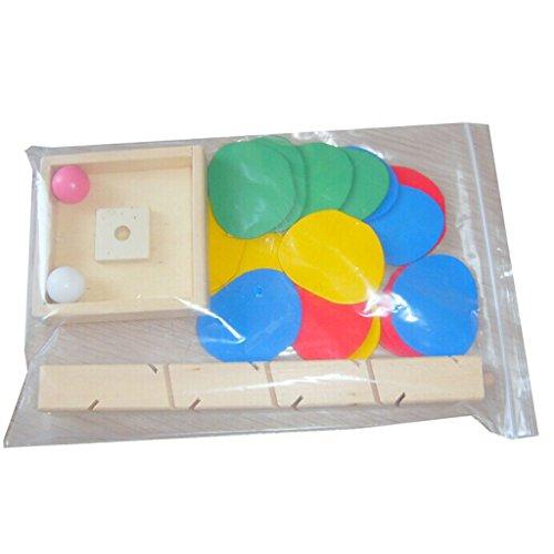 【ノーブランド 品】トラックゲーム 木製玩具 知能教育 子供 おもちゃ カラフル 贈り物の商品画像