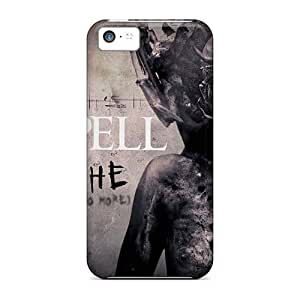 Anti-Scratch Hard Phone Covers For Iphone 5c With Support Your Personal Customized Vivid Moonspell Band Morbid God Pattern NataliaKrause