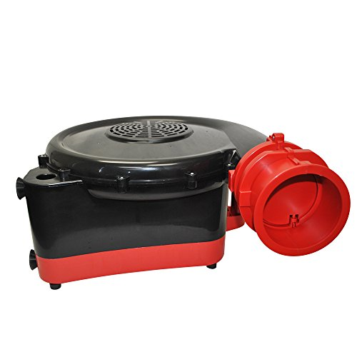 XPOWER BR-282A 2-HP 1500-CFM Indoor/Outdoor Inflatable Blower, 12-Amp by X-Power (Image #4)