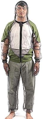 Delisouls Exterior Antimosquitos Pantalones Traje, Hombre Mujer ...
