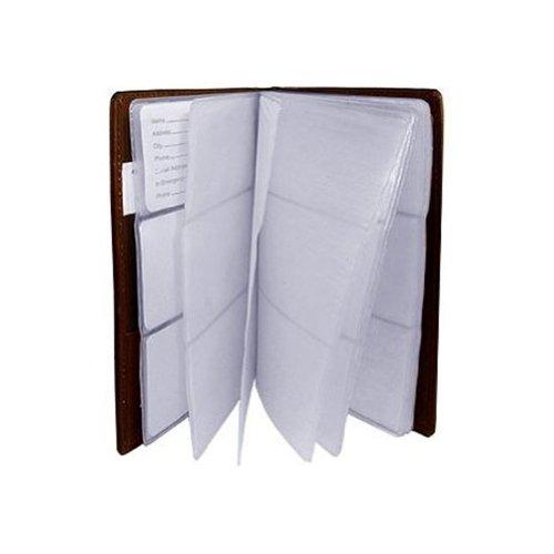 Handbag Avenue Leather (Leather Business Card Organizer Holder Brown Wallet)