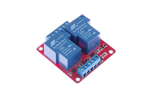 KNACRO DC 5V SLA-5VDC-SL-C DC 5V / AC 250V 30A dual relay module 30A two-way 2-way relay module optocoupler isolation - Dual Relay Module